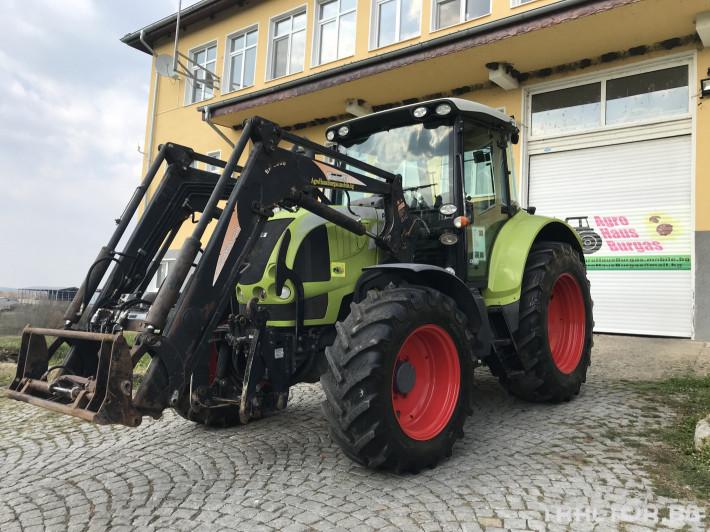 Трактори Claas ARION 520 CEBIS С ТОВАРАЧ ЛИЗИНГ 2 - Трактор БГ