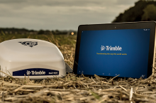 Trimble GFX-750 - Трактор БГ
