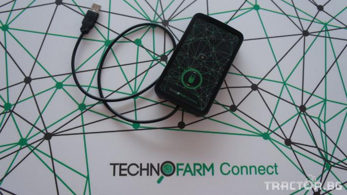 Прецизно земеделие TechnoFarm Connect 0 - Трактор БГ