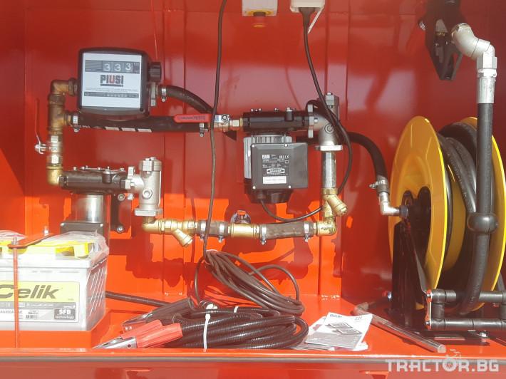 Ремаркета и цистерни Турски Цистерна за гориво 1 - Трактор БГ
