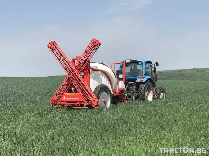Пръскачки Agromehanika ПРОМО!!! Прикачна пръскачка AGS 2000 EN + 15 m хидравлична щанга 0 - Трактор БГ