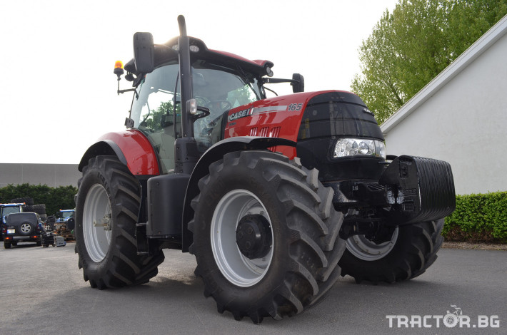 Трактори CASE-IH Puma 165 Powercommand 1 - Трактор БГ