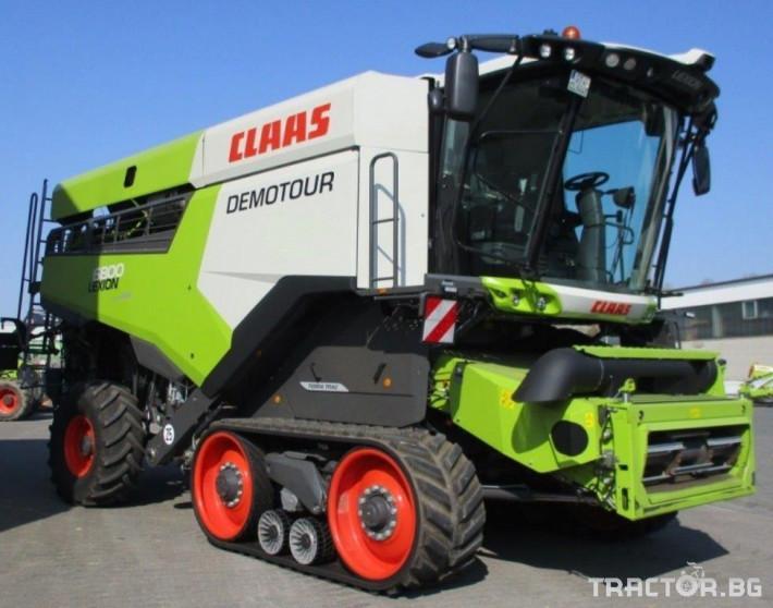Комбайни Claas Lexion 6800 Terra Track 3 - Трактор БГ