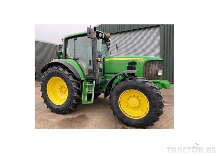 Трактори John Deere 6830 0 - Трактор БГ