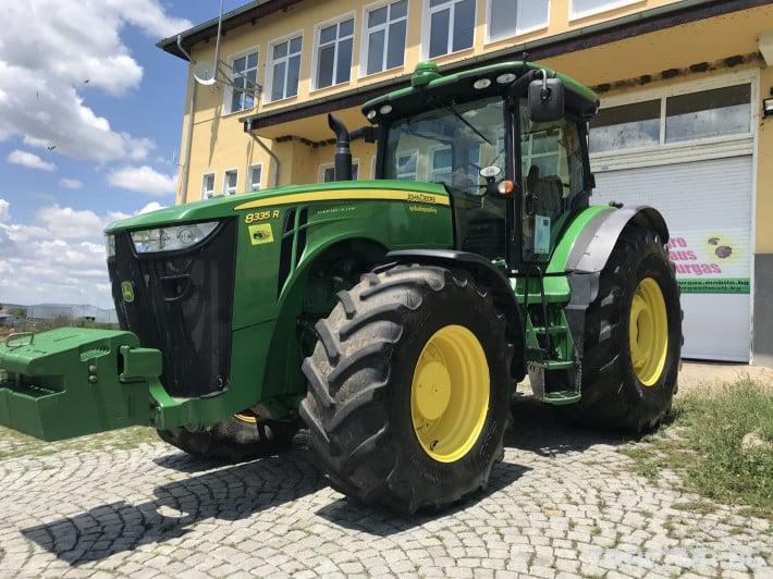 Трактори John-Deere 8335R POWER SHIFT С НАВИГАЦИЯ ЛИЗИНГ 2 - Трактор БГ