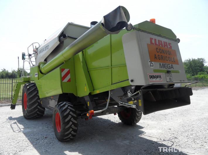 Комбайни Claas Mega 370 4 - Трактор БГ