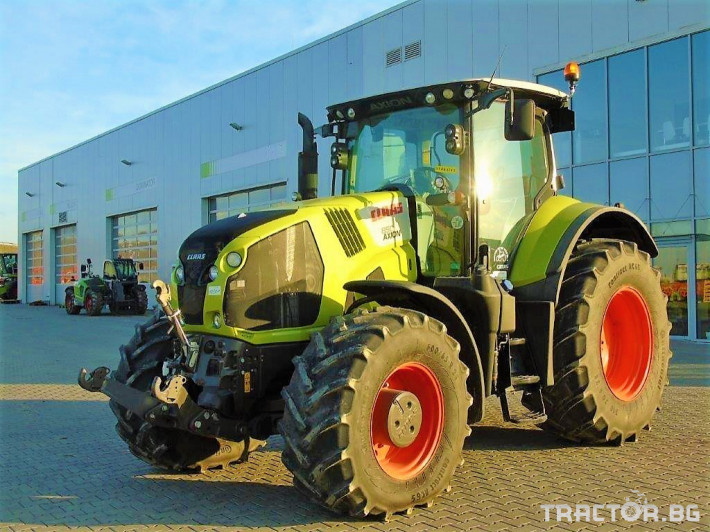Трактори Claas Axion 850 Cebis T4 0 - Трактор БГ