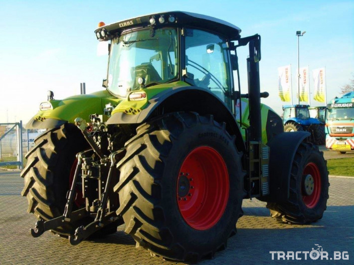 Трактори Claas Axion 850 Cebis T4 1 - Трактор БГ