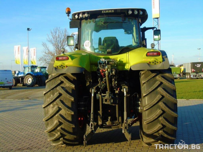 Трактори Claas Axion 850 Cebis T4 2 - Трактор БГ