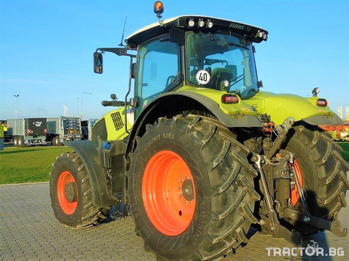 Трактори Claas Axion 850 Cebis T4 3 - Трактор БГ