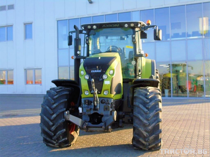 Трактори Claas Axion 850 Cebis T4 6 - Трактор БГ