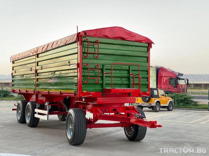 Ремаркета и цистерни Ремарке CASELLI 3 - Трактор БГ