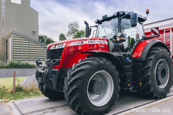 Трактори Massey Ferguson 8740S 0 - Трактор БГ