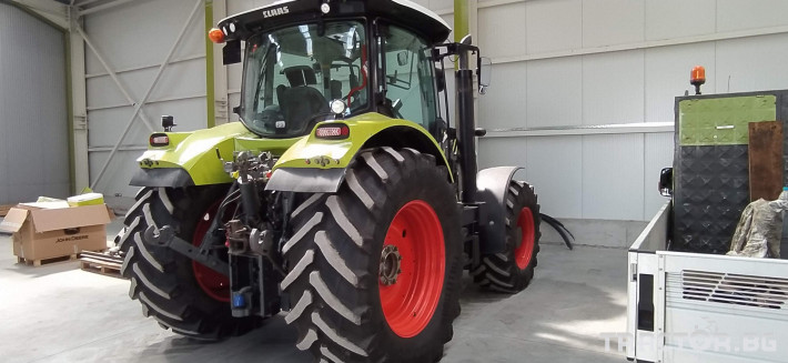 Трактори Claas Arion 650 Cmatic Cebis 1 - Трактор БГ
