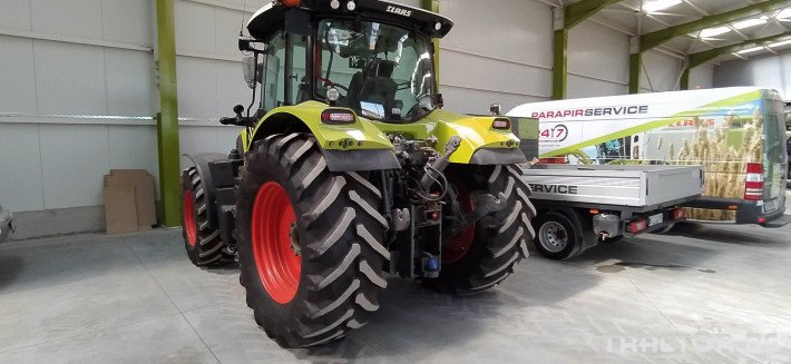 Трактори Claas Arion 650 Cmatic Cebis 5 - Трактор БГ