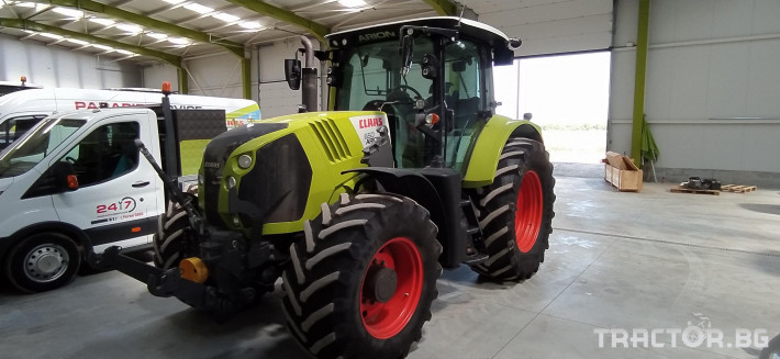 Трактори Claas Arion 650 Cmatic Cebis 3 - Трактор БГ