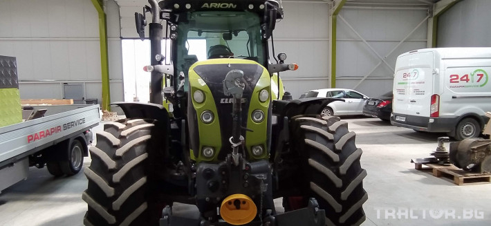 Трактори Claas Arion 650 Cmatic Cebis 4 - Трактор БГ