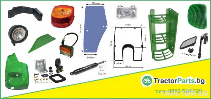 Части за инвентар Ролка на пистов ремък - John Deere 6000, 7000, Renault/Claas Ares 500, Ares 600 серия 6 - Трактор БГ