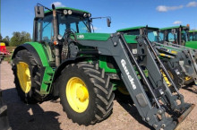 John-Deere 6830 AQ ECO SHIFT - Трактор БГ