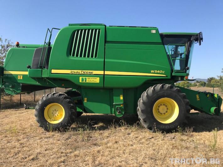 Комбайни John-Deere W540C 14 - Трактор БГ