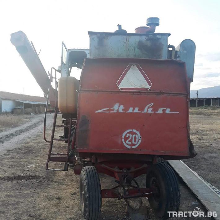 Комбайни ДОН Нива 4 - Трактор БГ