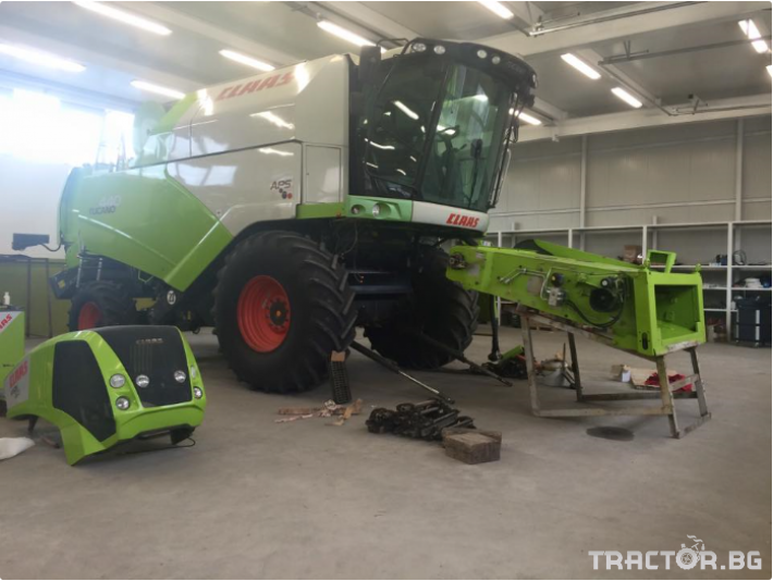Сервиз на трактори Сервизно обслужване и ремонт на трактори и комбайни CLAAS 3 - Трактор БГ