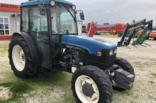 New-Holland TN90F - Трактор БГ