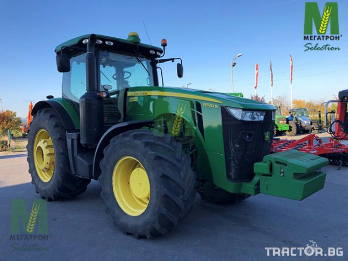 Трактори John-Deere 8320R 4 - Трактор БГ