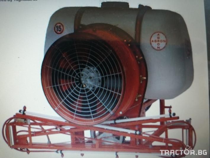 Пръскачки Agron SSU-350 1 - Трактор БГ