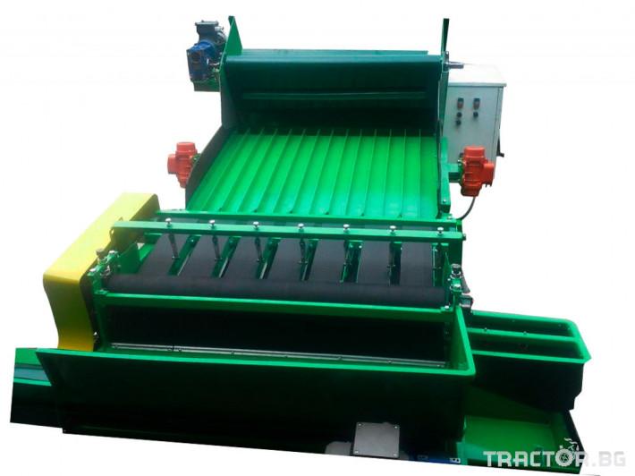 Машини за зеленчуци АВТОМАТИЧНА МАШИНА ЗА БЕЛЕНЕ НА БОБ 0 - Трактор БГ