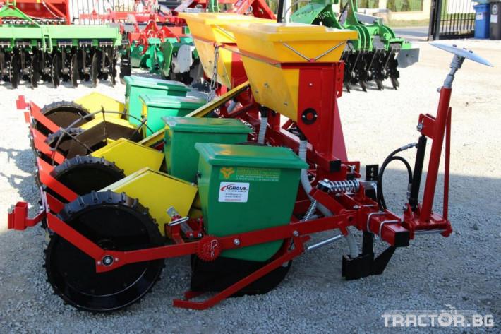 Сеялки Механична сеялка за пролетници като царевица слънчоглед и др. 3 - Трактор БГ