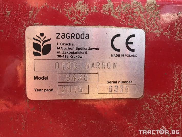 Брани Полска дискова брана Zagroda Disc Harrow 12 - Трактор БГ