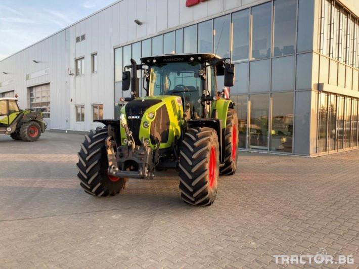 Трактори Claas Arion 630 Cis 22 - Трактор БГ