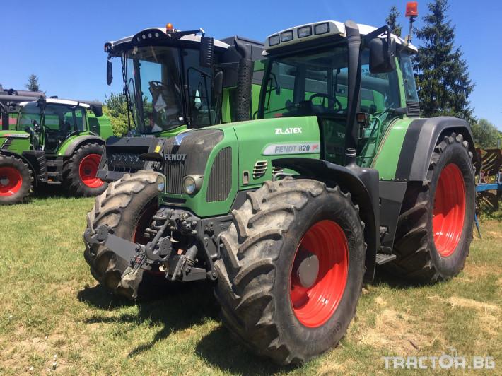 Трактори Fendt 820 Vario 0 - Трактор БГ