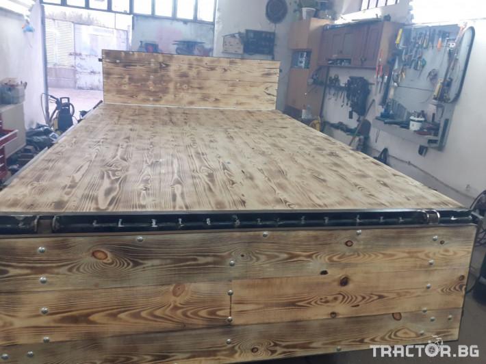 Ремаркета и цистерни Двуосно ремарке 2 - Трактор БГ