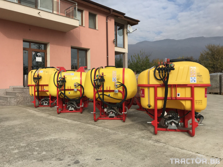 Пръскачки Agromehanika Вентилаторна пръскачка AGP 300-400 K 1 - Трактор БГ