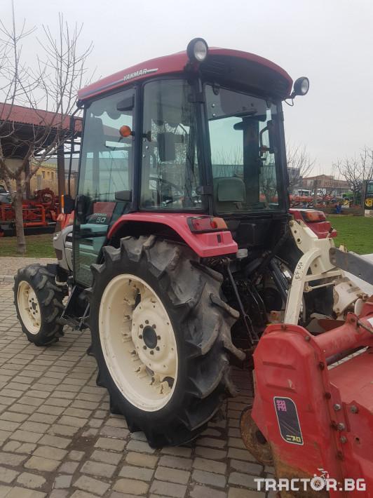 Трактори Yanmar EF650 2 - Трактор БГ