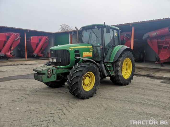 Трактори John-Deere 6630 1 - Трактор БГ