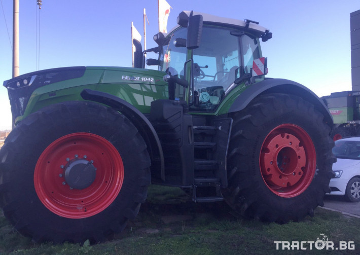 Трактори Fendt 1042 Vario Pоwer Plus 1 - Трактор БГ