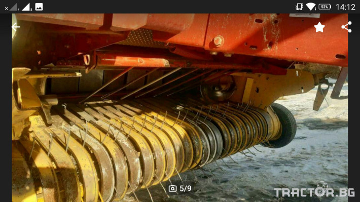 Сламопреси New-Holland Мрежа и сезал 650 2 - Трактор БГ