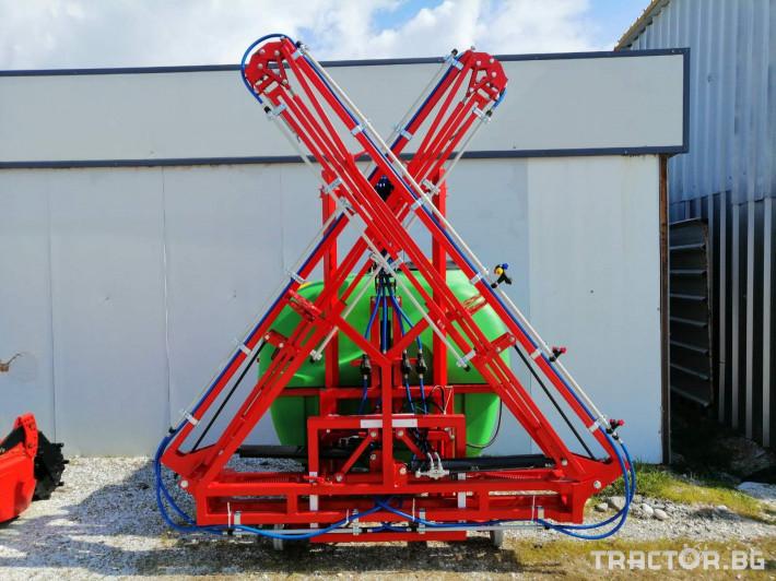Пръскачки Пръскачка BRANSON 1000Lt 10 - Трактор БГ