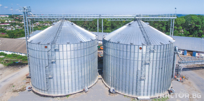 Обработка на зърно Variant Agro Build: Silos 1 - Трактор БГ