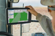 GPS управление TOPCON - Трактор БГ