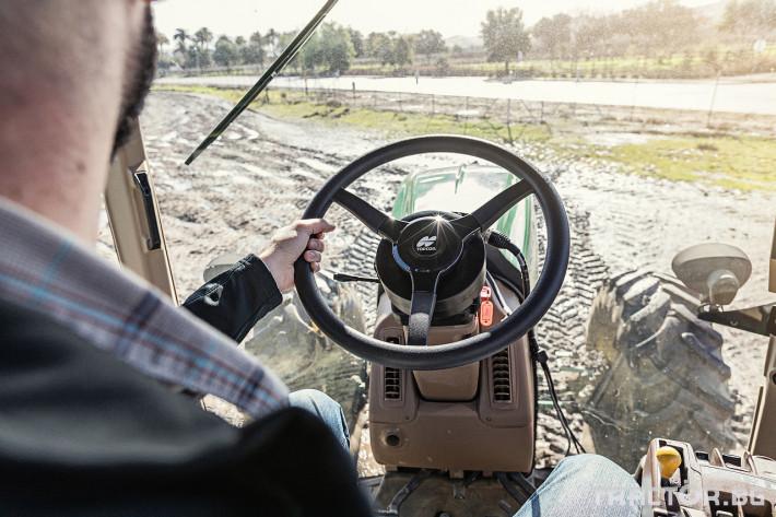 Прецизно земеделие GPS управление TOPCON 4 - Трактор БГ