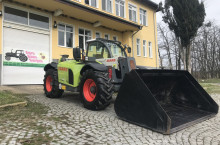 Claas SCORPION 7040 VARIPOWER С КОФА И ВИЛИЦИ ЛИЗИНГ - Трактор БГ