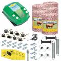 Пълен професионален комплект електропастир за дом.животни - DL-7.2 J 5000 m с якост на опъна 95 kg