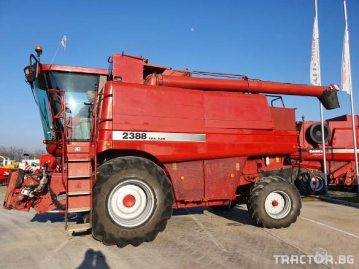 Комбайни CASE-IH Axial Flow 2388 6 - Трактор БГ