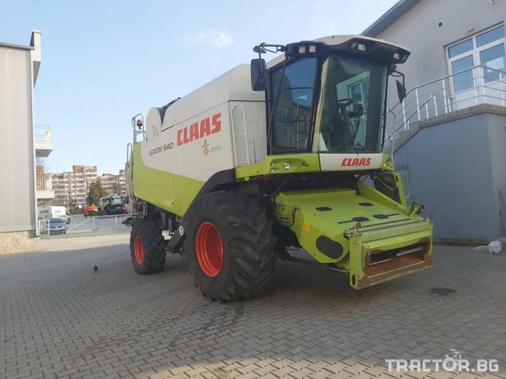 Комбайни Claas Наличен и Обслужен Комбайн CLAAS Lexion 540 + V660 1 - Трактор БГ