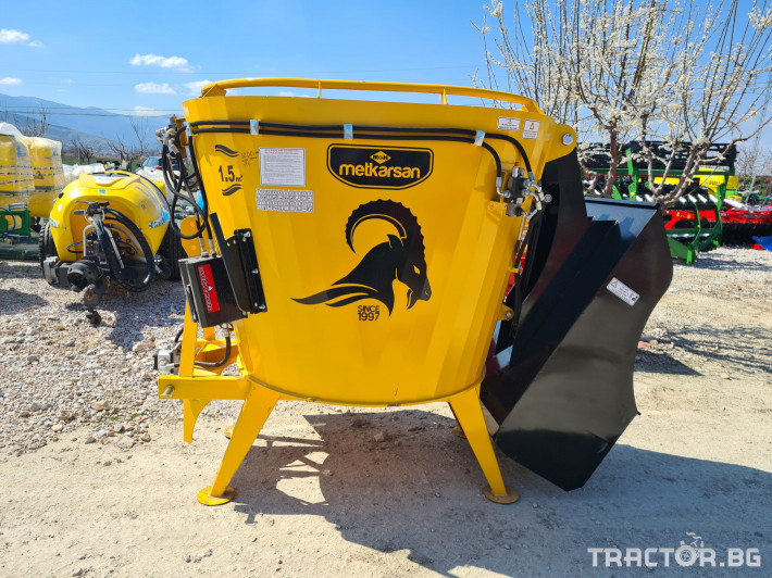 Машини за ферми Смесител (миксер) за фураж 4 - Трактор БГ