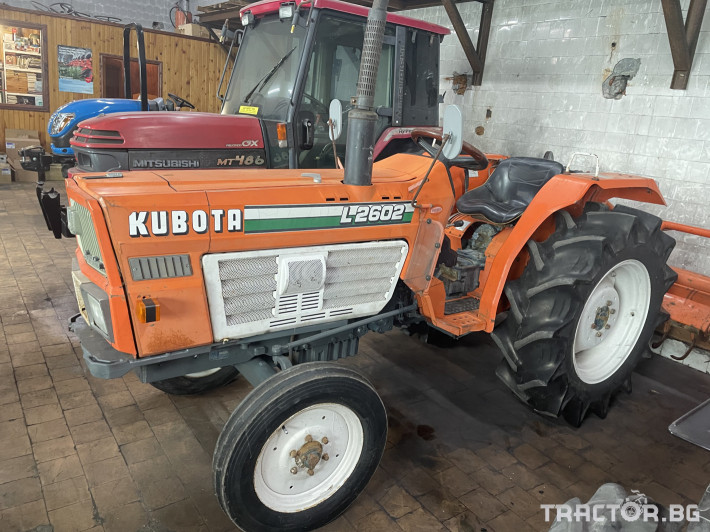 Трактори Kubota L2602 0 - Трактор БГ